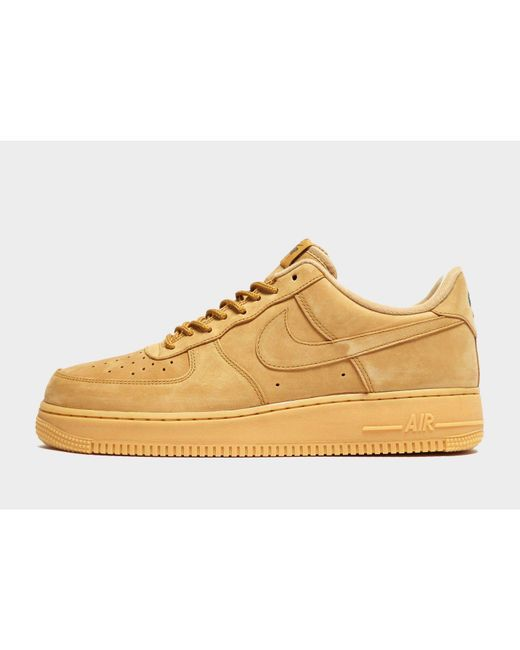 finest selection 0d6c0 dd332 Nike - Multicolor Air Force 1 Lv8 Flax for Men - Lyst ...