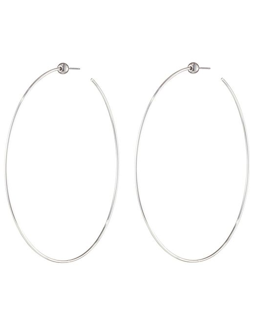 Jenny Bird - Metallic Icon Hoops - Large - Lyst