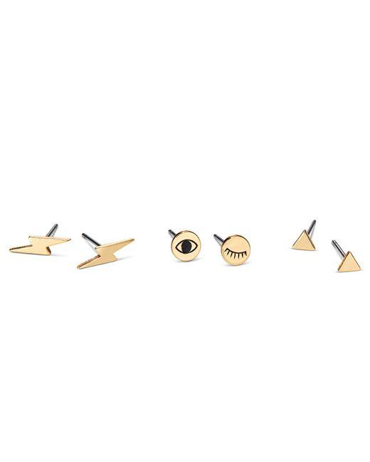 Jenny Bird   Metallic Electric Eyes Stud Set   Lyst