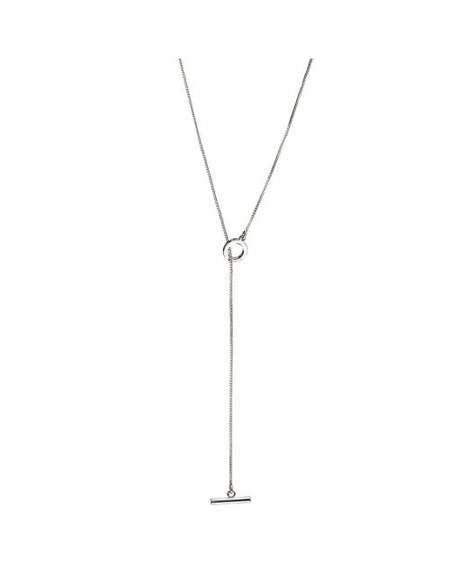 Jenny Bird - Metallic Mimi Lariat - Long - Lyst