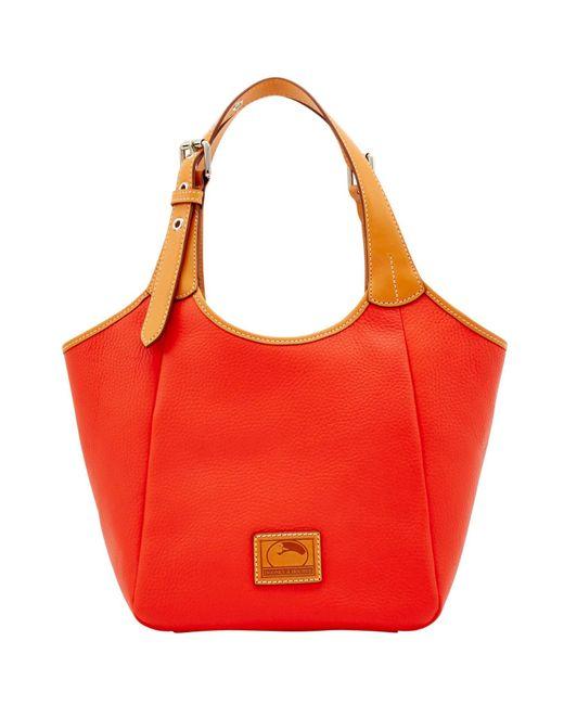 Dooney & Bourke - Red Patterson Leather Penelope - Lyst