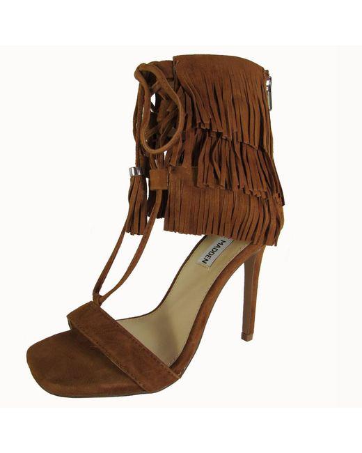 Steve Madden - Brown Womens Shay Pump Sandal Shoes - Lyst