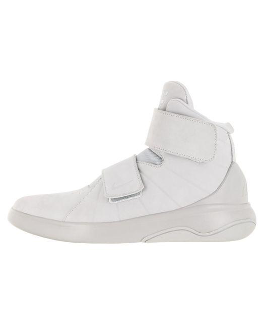 lyst nike marxman ridotta di puro platino / pr pltnm / pr pltnm scarpe casual