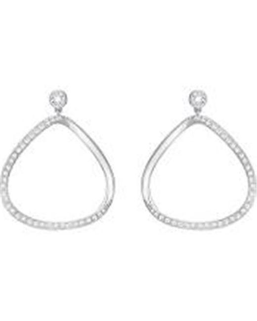 Swarovski - Metallic Gaya Pierced Earrings - White - 5279795 - Lyst