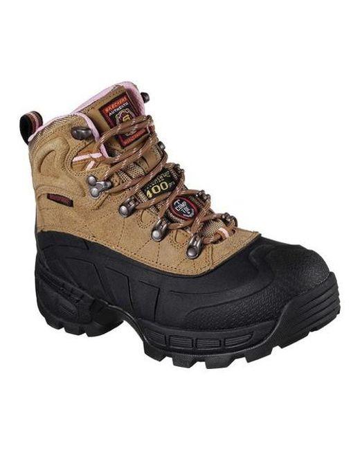 Skechers | Brown Work Relaxed Fit Radford Ligonier Wp Comp Toe Boot for Men  | Lyst