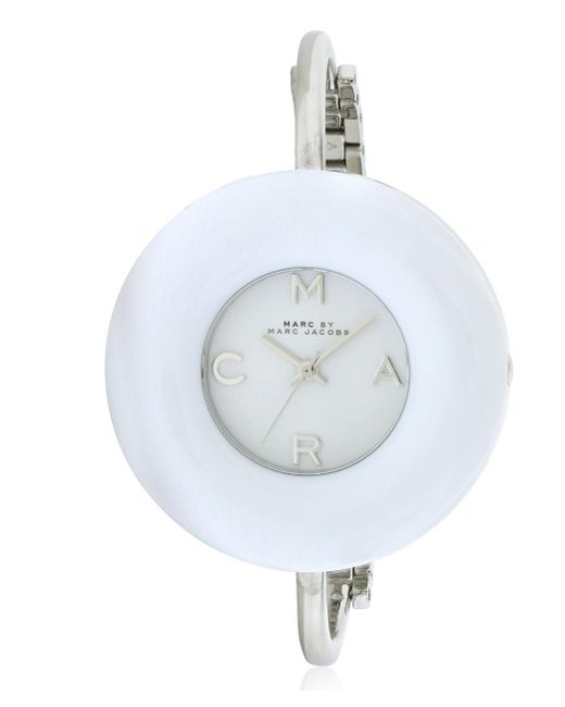 Marc By Marc Jacobs - White Donut Ladies Watch Mbm3396 - Lyst