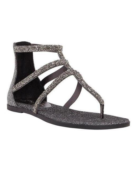 84f416a6a36 Lyst - Jessica Simpson Cammie Thong Sandal in Metallic