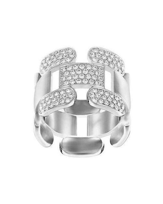 Swarovski | Multicolor Cube Crystal Ring | Lyst