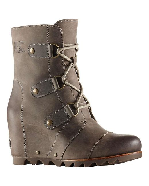 Sorel | Brown Joan Of Arctic Wedge Mid Boot | Lyst