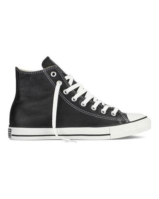 Converse - Black Unisex Chuck Taylor All Star Canvas Hitop Trainers for Men - Lyst