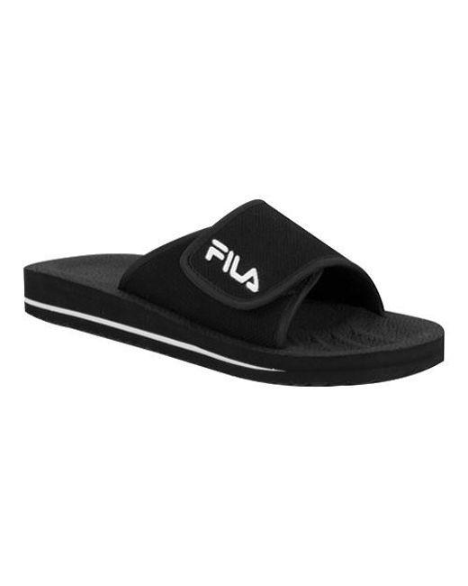 Fila - Black Slip On 1sc036xx for Men - Lyst