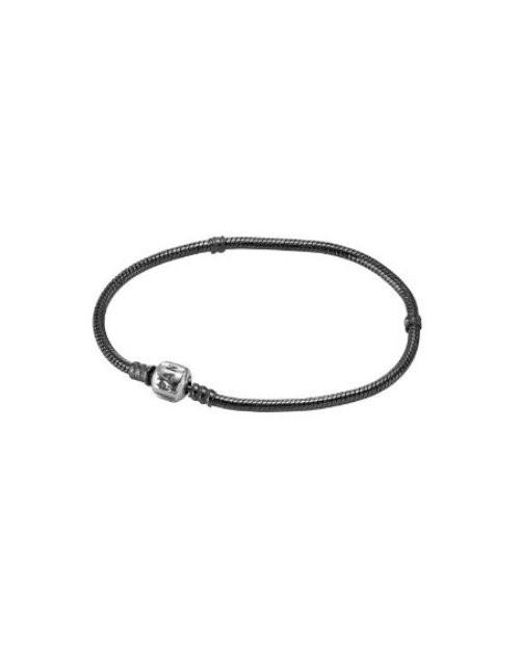 Pandora | Metallic Oxiidized Sterling Bracelet 590702ox-17 | Lyst