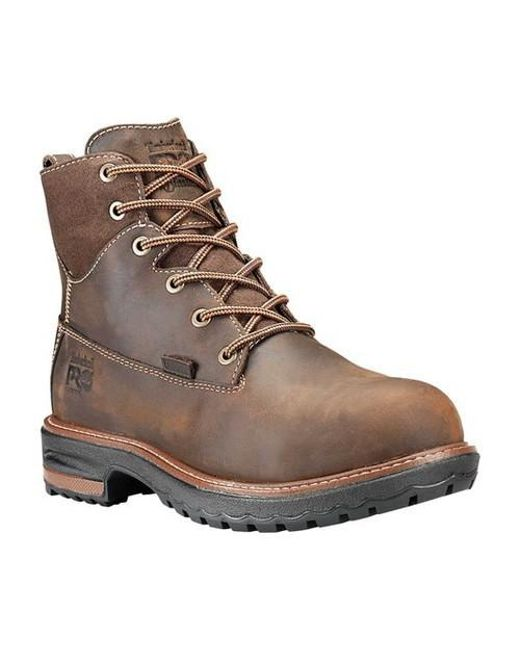 6e6da51b228 Men's Brown Pro 6' Hightower Alloy Toe Waterproof Boot