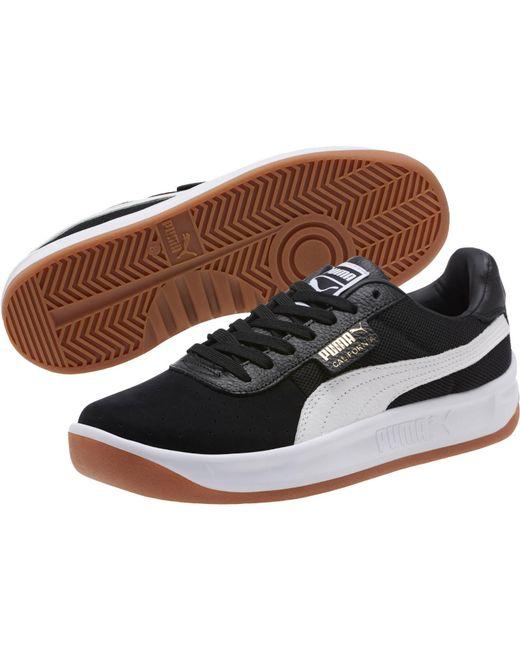 PUMA - Black California Casual Unisex Sneakers Unisex Adult - Lyst