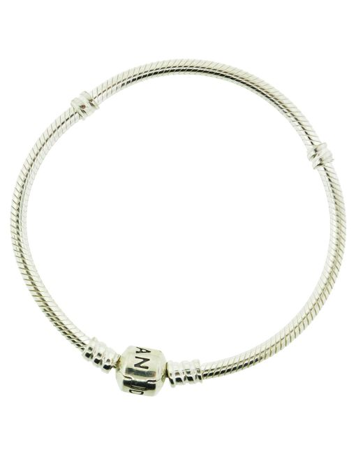 Pandora - Metallic Mots Sterling Charm Bracelet 21cm - 590702hv-21 - Lyst