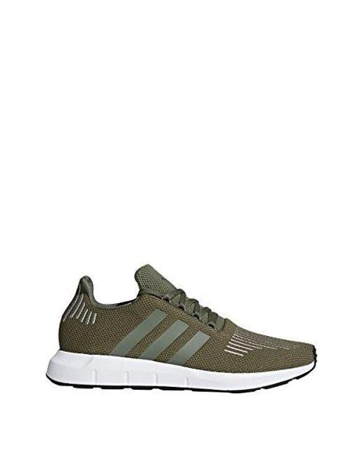 Men's Green Swift Run Shoes