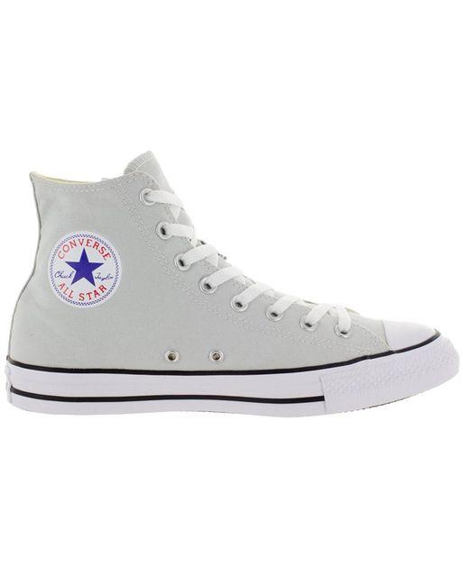 1288472b07586 ... Converse - Gray Unisex Chuck Taylor All Star Hi Mouse Basketball Shoeus    12 Us for