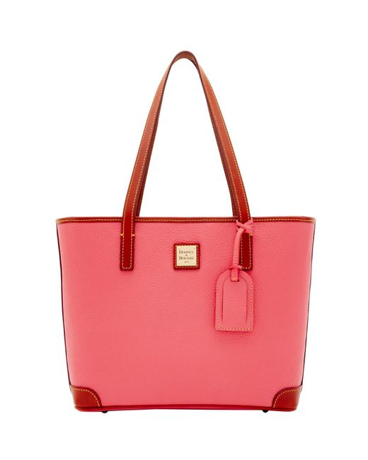 Dooney & Bourke - Red Pebble Grain Charleston Bag - Lyst