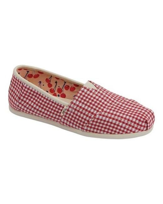 2f477a1780 TOMS Seasonal Classic Alpargata in Red - Save 31% - Lyst