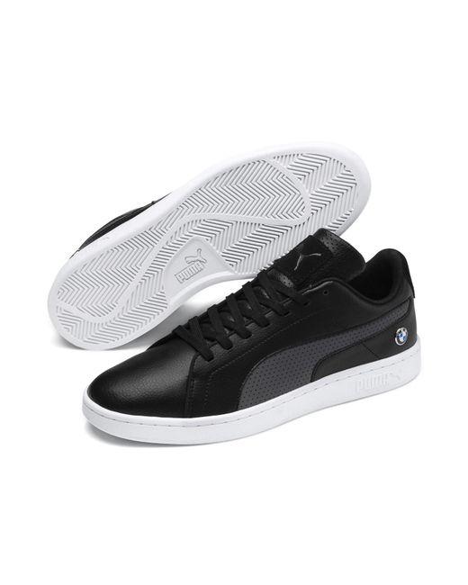 0a725dd11 PUMA - Black Bmw M Motorsport Smash V2 Sneakers for Men - Lyst ...