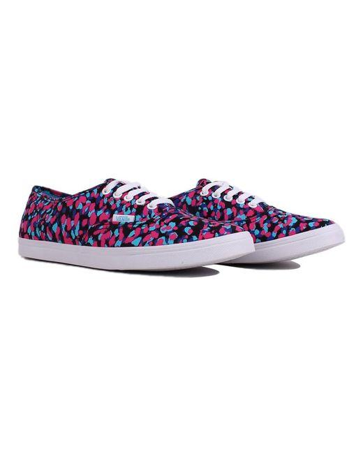Vans - Blue Unisex Authentic Lo Pro Mixed Sneakers for Men - Lyst