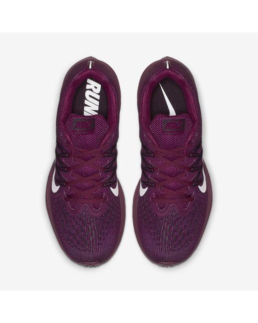 043f5444a8803 ... Nike - Purple Air Zoom Winflo 5 Running Shoe - Lyst ...