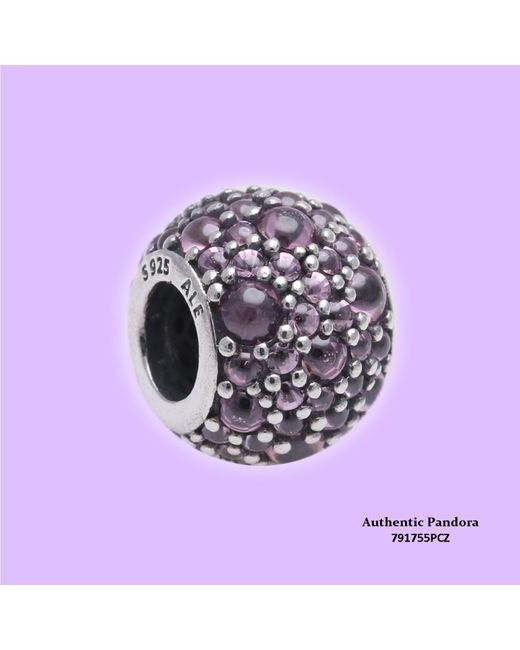 Pandora - Multicolor Authentic Pink Shimmering Droplets Charm 791755pcz - Lyst