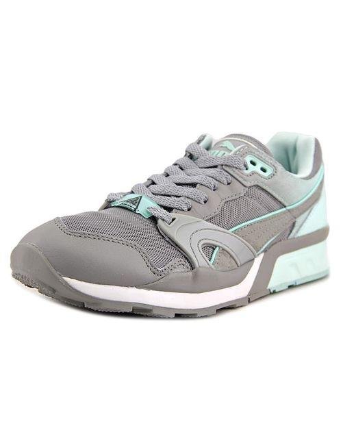 PUMA | Xt-1 Blur 1 Women Round Toe Synthetic Gray Sneakers | Lyst