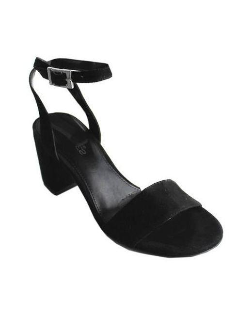 Charles David - Black Keenan Ankle-strap Sandal - Lyst