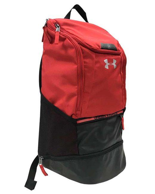 Under Armour - Red Ua Unisex Striker 4 Soccer Backpack Bag - Lyst