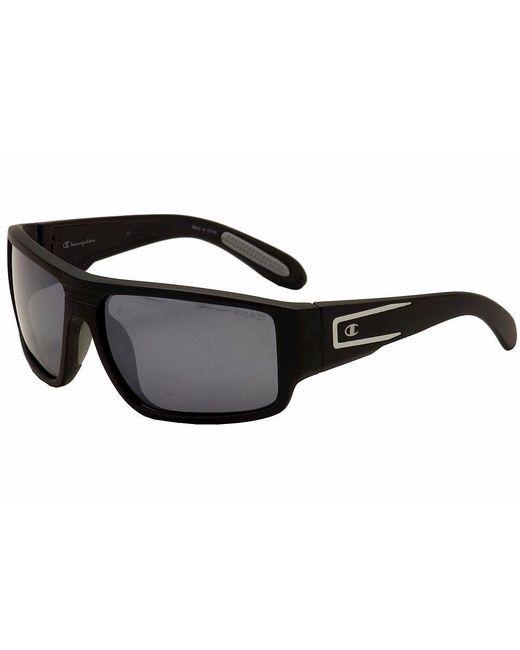 Champion | Cu5006 Cu/5006 C01 Black/concrete/silver Polarized Sunglasses 60mm for Men | Lyst