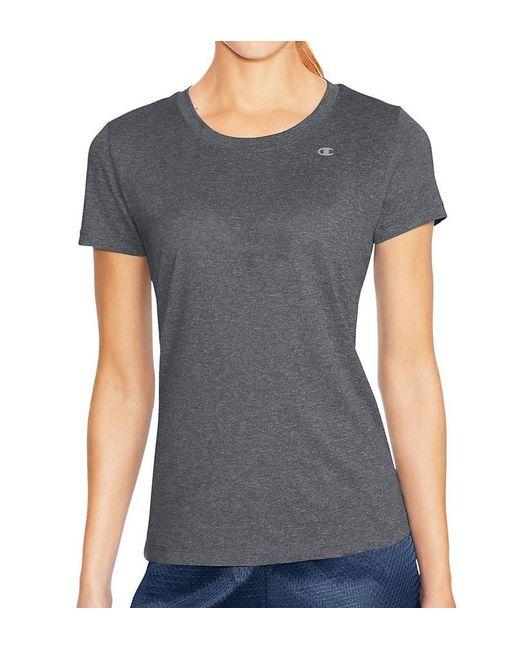 Champion - Gray 7963 Vapor Short Sleeve Heather Tee With Freshiq - Lyst