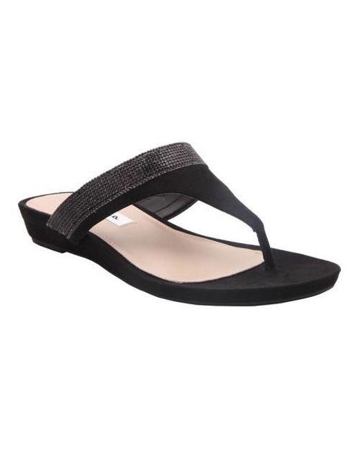 Nina - Black Micayla Thong Sandal - Lyst
