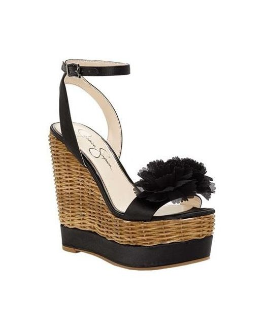 Jessica Simpson Women's Pressa Platform Wedge Sandal p3AvQSB