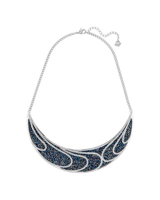 Swarovski | Blue Earth Necklace | Lyst