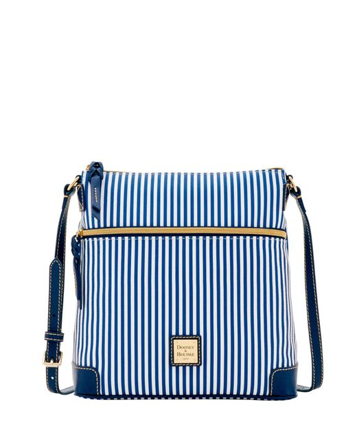 Dooney & Bourke | Blue Db Stripe Crossbody | Lyst