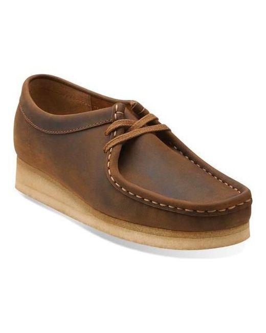 Clarks - Brown Wallabee Bootie - Lyst