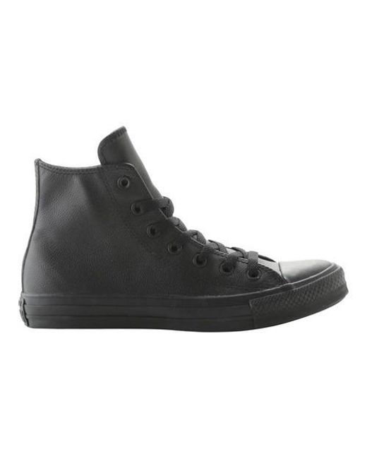 b59afcac26f4 Lyst - Converse Unisex Chuck Taylor All Star Leather High Top in ...