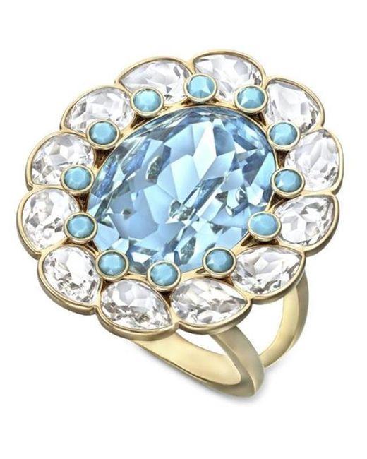 Swarovski - Blue 5037464 Azore Ring - Lyst