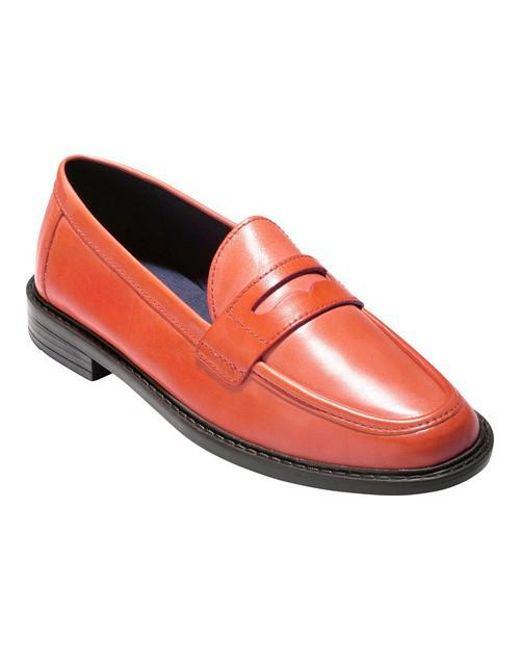Cole Haan - Red Pinch Campus Penny Loafer - Lyst