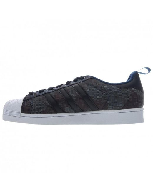 ... Adidas | Blue Superstar Kevlar Casual Shoes Size 11.5 for Men | Lyst ...