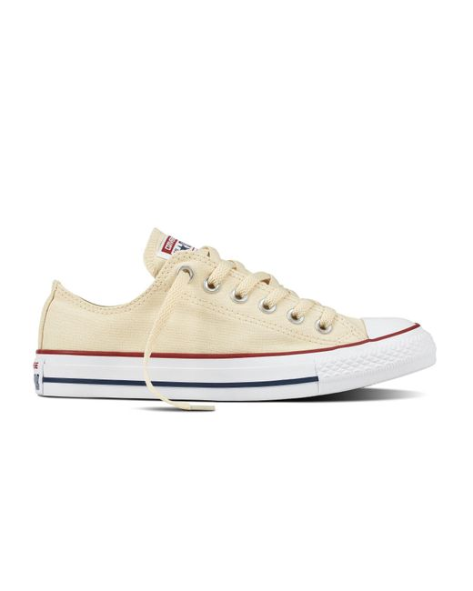 dc231d42562673 Lyst - Converse Unisex Chuck Taylor All Star Low Top in White for Men