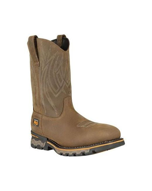 651b75c1a7b Men's Brown Pro Ag Boss Waterproof Square Alloy Safety Toe Boot