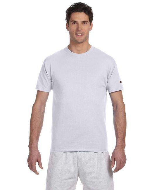 Champion | White T525c 6 Oz. Short-sleeve T-shirt Ash Xl for Men | Lyst