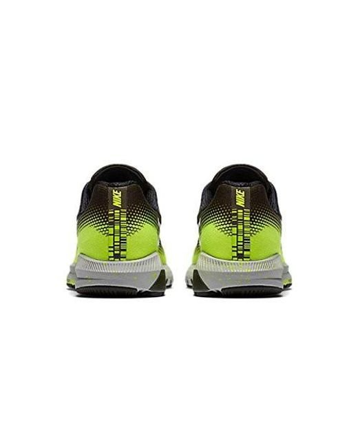 947e23935c6 ... running shoes blackyelloworange ce09f 0b27d  get nike green air zoom  structure 20 shield for men lyst 67108 542f7