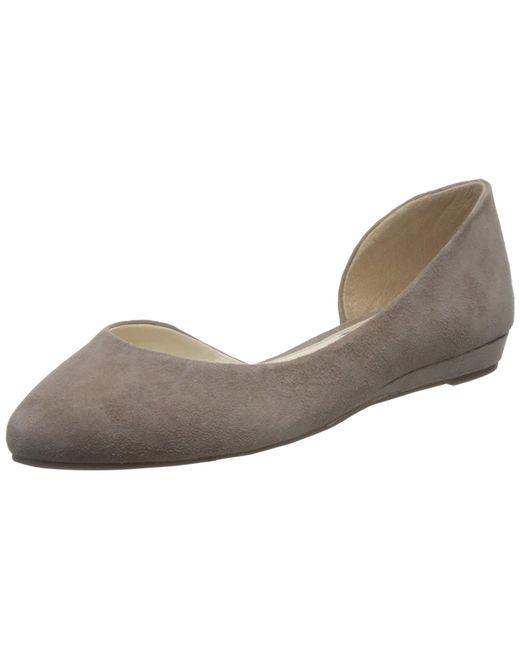 Jessica Simpson - Brown Lynsey Ballet Flat - Lyst