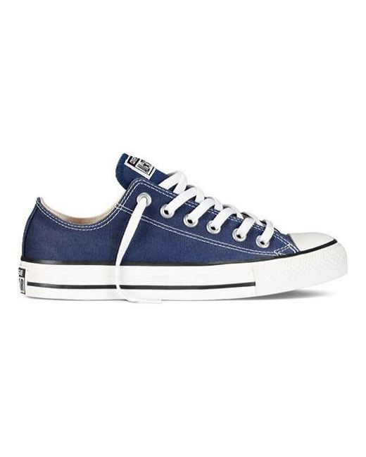 f6ac60fdd887 Converse - Blue Chuck Taylor All Star Adult Unisex Low Top Sneaker for Men  - Lyst