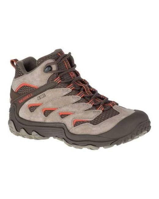 3ca338e2b Men's Brown Chameleon 7 Limit Mid Waterproof Hiking Boot