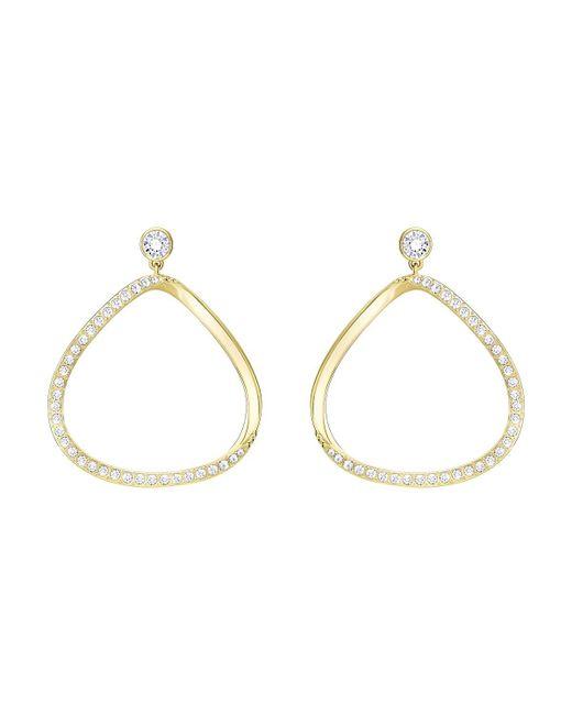 Swarovski - Metallic Gaya Pierced Earrings - White - 5278288 - Lyst