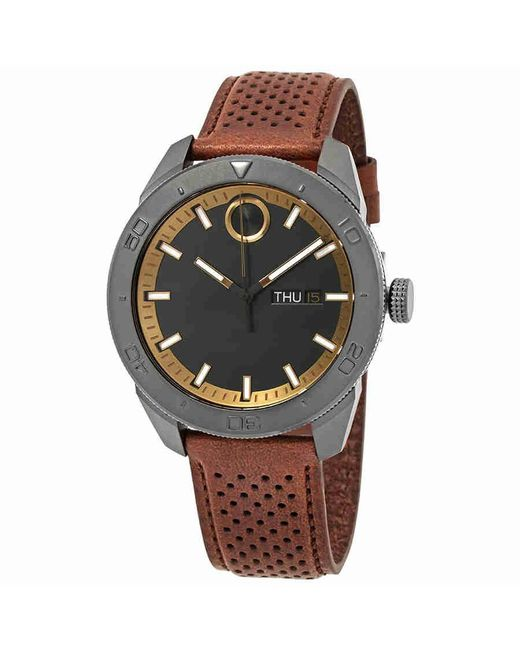 Movado - Bold Black Dial Watch 3600496 for Men - Lyst